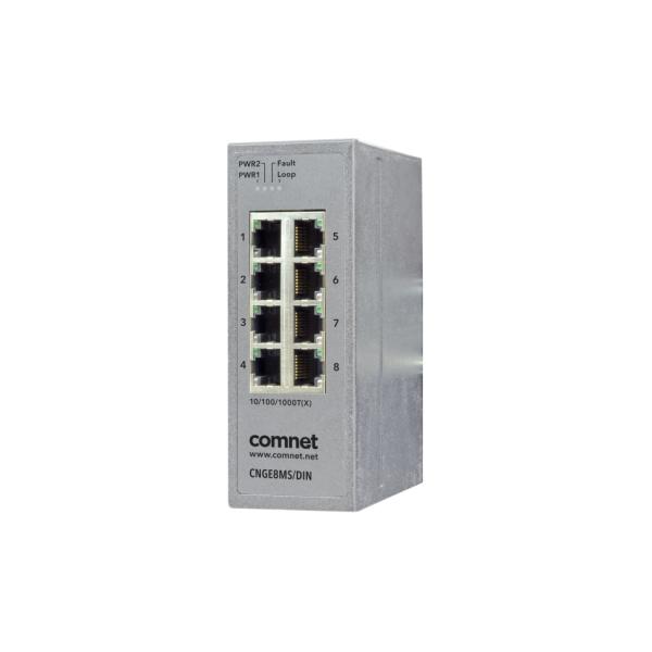 CNGE8MS/DIN ComNet