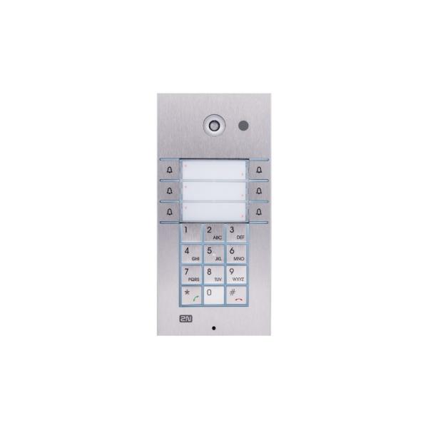 2N IP Vario 3x2 Butt Keyp Cam 2N